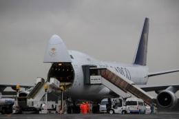 スポット110さんが、羽田空港で撮影したサウディア 747-428F/ER/SCDの航空フォト(写真)