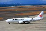 きったんさんが、中部国際空港で撮影した日本航空 737-846の航空フォト(写真)