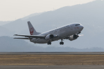 rsn39762さんが、岡山空港で撮影した日本トランスオーシャン航空 737-446の航空フォト(写真)