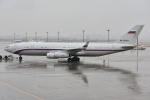 sky77さんが、羽田空港で撮影したロシア連邦保安庁 Il-96-400VPUの航空フォト(写真)