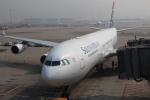 蒲田賢二さんが、香港国際空港で撮影した南アフリカ航空 A340-313Xの航空フォト(写真)