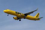 Kinyaさんが、ロサンゼルス国際空港で撮影したスピリット航空 A321-231の航空フォト(写真)