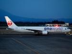 ☆A♡K STAR ALLIANCE☆さんが、鹿児島空港で撮影した日本航空 767-346の航空フォト(写真)