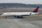 セブンさんが、成田国際空港で撮影したデルタ航空 757-26Dの航空フォト(写真)