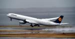 kamerajiijiさんが、羽田空港で撮影したルフトハンザドイツ航空 A340-642Xの航空フォト(写真)