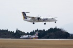 ☆A♡K STAR ALLIANCE☆さんが、鹿児島空港で撮影した日本エアコミューター DHC-8-402Q Dash 8の航空フォト(写真)