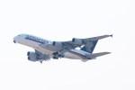 ガス屋のヨッシーさんが、関西国際空港で撮影したシンガポール航空 A380-841の航空フォト(写真)