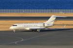たまさんが、羽田空港で撮影したUNITED TECHNOLOGIES CORP BD-700-1A11 Global 5000の航空フォト(写真)