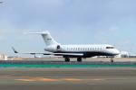 たまさんが、羽田空港で撮影したThe Whitewind Company BD-700-1A10 Global 6000の航空フォト(写真)