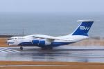 ストロベリーさんが、中部国際空港で撮影したシルク・ウェイ・エアラインズ Il-76TDの航空フォト(写真)
