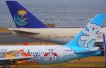 KAZKAZさんが、羽田空港で撮影したAIR DO 767-381の航空フォト(写真)