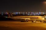 KAZKAZさんが、ドーハ・ハマド国際空港で撮影したカタール航空 A350-941XWBの航空フォト(写真)