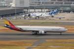 OS52さんが、羽田空港で撮影したアシアナ航空 A330-323Xの航空フォト(写真)