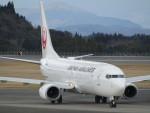 MiyaYuniさんが、鹿児島空港で撮影した日本航空 737-846の航空フォト(写真)