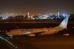 KAZKAZさんが、ドーハ・ハマド国際空港で撮影したフライドバイ 737-8KNの航空フォト(写真)
