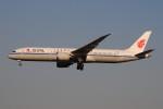 ぼんやりしまちゃんさんが、北京首都国際空港で撮影した中国国際航空 787-9の航空フォト(写真)
