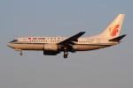 ぼんやりしまちゃんさんが、北京首都国際空港で撮影した中国国際航空 737-79Lの航空フォト(写真)