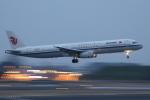 多楽さんが、成田国際空港で撮影した中国国際航空 A321-232の航空フォト(写真)