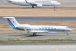 B747‐400さんが、羽田空港で撮影した海上保安庁 G-V Gulfstream Vの航空フォト(写真)