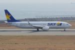 PASSENGERさんが、神戸空港で撮影したスカイマーク 737-8ALの航空フォト(写真)
