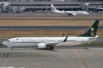B747‐400さんが、羽田空港で撮影したサウジアラビア財務省 737-9FG/ER BBJ3の航空フォト(写真)