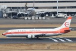 B747‐400さんが、羽田空港で撮影した日本トランスオーシャン航空 737-446の航空フォト(写真)