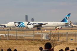 Koenig117さんが、成田国際空港で撮影したエジプト航空 777-36N/ERの航空フォト(写真)