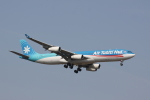 しかばねさんが、成田国際空港で撮影したエア・タヒチ・ヌイ A340-313Xの航空フォト(写真)