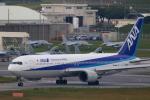 かみじょー。さんが、那覇空港で撮影した全日空 767-381/ERの航空フォト(写真)
