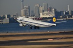 へらぶなさんが、羽田空港で撮影したルフトハンザドイツ航空 747-230Bの航空フォト(写真)