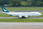 Tomo-Papaさんが、シンガポール・チャンギ国際空港で撮影したキャセイパシフィック航空 747-467F/ER/SCDの航空フォト(写真)