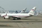 SKY TEAM B-6053さんが、羽田空港で撮影したロシア連邦保安庁 Il-96-400VPUの航空フォト(写真)