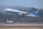 turenoアカクロさんが、高松空港で撮影した全日空 A321-211の航空フォト(写真)