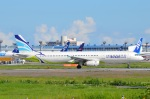 amagoさんが、成田国際空港で撮影したエアプサン A321-131の航空フォト(写真)