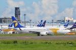 amagoさんが、成田国際空港で撮影したMIATモンゴル航空 737-8CXの航空フォト(写真)