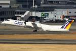Mar Changさんが、伊丹空港で撮影した日本エアコミューター DHC-8-402Q Dash 8の航空フォト(写真)