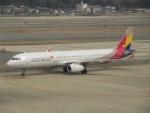 commet7575さんが、福岡空港で撮影したアシアナ航空 A321-231の航空フォト(写真)