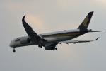 gucciyさんが、羽田空港で撮影したシンガポール航空 A350-941XWBの航空フォト(写真)