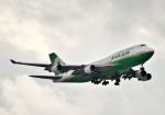 Cygnus00さんが、新千歳空港で撮影したエバー航空 747-45Eの航空フォト(写真)