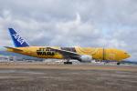 ワイエスさんが、鹿児島空港で撮影した全日空 777-281/ERの航空フォト(写真)