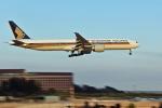 NIKKOREX Fさんが、成田国際空港で撮影したシンガポール航空 777-312/ERの航空フォト(写真)