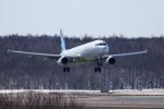 noriphotoさんが、新千歳空港で撮影したエアプサン A321-231の航空フォト(写真)