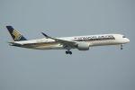 tomoMTさんが、羽田空港で撮影したシンガポール航空 A350-941XWBの航空フォト(写真)