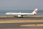 いっとくさんが、羽田空港で撮影した中国国際航空 A330-343Xの航空フォト(写真)