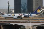 いっとくさんが、羽田空港で撮影したスカイマーク 737-86Nの航空フォト(写真)