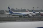 いっとくさんが、成田国際空港で撮影した全日空 787-9の航空フォト(写真)