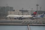 いっとくさんが、成田国際空港で撮影したデルタ航空 747-451の航空フォト(写真)