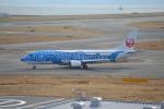 fu14さんが、関西国際空港で撮影した日本トランスオーシャン航空 737-4Q3の航空フォト(写真)
