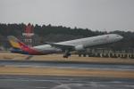 いっとくさんが、成田国際空港で撮影したアシアナ航空 A330-323Xの航空フォト(写真)