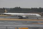 いっとくさんが、成田国際空港で撮影したシンガポール航空 777-312/ERの航空フォト(写真)